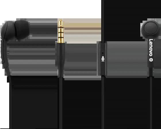 Lenovo 100 In-Ear Headphone-Black $4.99