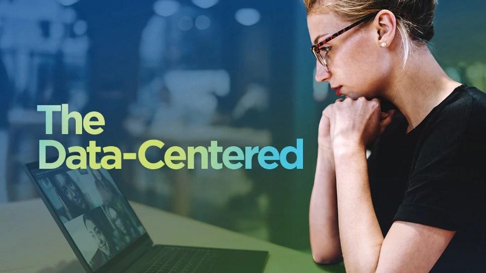 Data-Center Stories - Person using Lenovo laptop